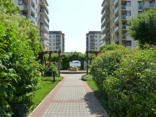 Lakóparkok zöldfelületei, Magánkertek