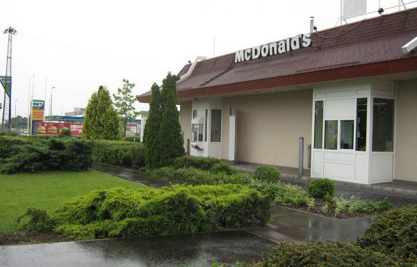 McDonald's éttermek kertjei